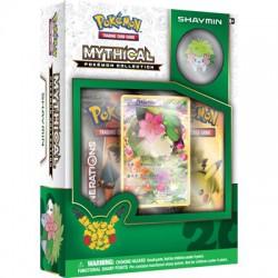 Pokemon TCG 20th Anniversary Mythical Pokémon Pin Box 06 - Shaymin