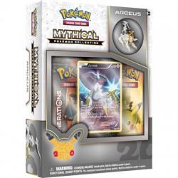 Pokemon TCG 20th Anniversary Mythical Pokémon Pin Box 07 - Arceus