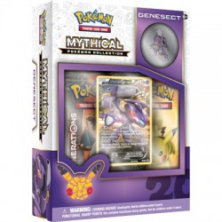 Pokemon TCG 20th Anniversary Mythical Pokémon Pin Box 10 - Genesect