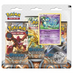 POK TCG XY11 Steam Siege 3 Booster Blister Pack