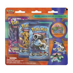 POK TCG XY12 Evolutions 3Booster Blister
